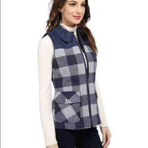 Pendleton Double Time Reverisible  Plaid Vest
